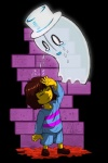 napstablook pdubbsquared protagonist_(undertale) undertale video_games  Rating: Safe Score: 3 User: Crazy42 Date: February 08, 2016