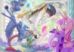 2016 bucket cake carpet crown discord_(mlp) draconequus equine feathered_wings feathers female feral food friendship_is_magic furniture group horn inside jowybean magic male mammal my_little_pony princess_cadance_(mlp) princess_celestia_(mlp) princess_luna_(mlp) smile spread_wings twilight_sparkle_(mlp) window winged_unicorn wings  Rating: Safe Score: 9 User: ConsciousDonkey Date: March 13, 2016