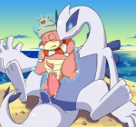 anal anal_penetration blush cum cum_in_ass cum_inside duo erection eyes_closed feral forced interspecies legendary_pokémon lugia male male/male nintendo nude orgasm outside penetration penis pokémon psychic psychic_rape rape red_eyes sea seaside sex size_difference sky slowking ukkappa video_games water wings  Rating: Explicit Score: 11 User: AbsebaroKoon Date: March 13, 2012""