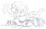 ambiguous_gender dialogue english_text legendary_pokémon nintendo pokémon reshiram sketch teasing text video_games zekrom   Rating: Questionable  Score: 3  User: erschi  Date: April 27, 2013