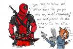blood canine clothing crossover deadpool disney duo female fox fur grey_fur judy_hopps lagomorph long_ears male mammal marvel melee_weapon nick_wilde orange_fur police_uniform rabbit size_difference sword text uniform weapon xxmarkingxx zootopia  Rating: Safe Score: 10 User: CloverTheRabbit Date: May 04, 2016