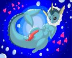 absurd_res animal_genitalia bestiality black_eyes blush bubble cloaca cute dryadex eeveelution feral fin hi_res interspecies luvdisc male marine nintendo penis pokémon sea vaporeon video_games water  Rating: Explicit Score: 0 User: Dryadex Date: April 19, 2015