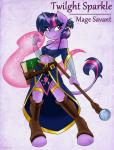 2015 ambris anthro anthrofied book cleavage clothed clothing equine female friendship_is_magic fur hair horn mammal midriff my_little_pony navel purple_eyes purple_fur purple_hair smile solo staff twilight_sparkle_(mlp) unicorn  Rating: Safe Score: 15 User: ultragamer89 Date: June 30, 2015""