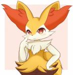 absurd_res amber_eyes blush braixen canine female hand_on_hip hand_up hi_res looking_at_viewer mammal nintendo pink_background pokémon pokémon_(species) simple_background smile solo unknown_artist video_gamesRating: SafeScore: 1User: ZapdosDate: October 21, 2017