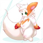 big_tail flaccid fur green_eyes male maverick nintendo penis pokémon solo source_request video_games white_fur zangoose  Rating: Explicit Score: 2 User: slyroon Date: March 09, 2012