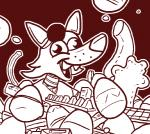 2015 animatronic anthro candy canine chocolate crisis-omega derp easter egg eye_patch eyewear five_nights_at_freddy's food fox foxy_(fnaf) holidays looking_at_viewer machine mammal open_mouth pirate robot simple_background smile video_games  Rating: Safe Score: 7 User: Hotfurry Date: April 06, 2015