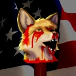 american_flag blood canine decapitation drama edit flag fox fursecution_fox gore innocent male mod nightmare_fuel o_o solo stars_and_stripes taurin_fox united_states_of_america what   Rating: Explicit  Score: -28  User: Anomynous  Date: February 12, 2009
