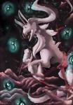2010 ambiguous_gender arceus black_fur duo fur green_eyes katkispulla legendary_pokémon nintendo open_mouth pokémon raised_leg slit_pupils teeth text tongue unown video_games white_fur  Rating: Safe Score: 0 User: GameManiac Date: July 31, 2015