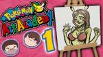 anthro barry_kramer bra brown_hair clothing easel english_text female game_grumps grumpcade hair male mammal nintendo pikachu pokemon_art_academy pokémon rodent ross_o'donovan text thumbnail underwear unknown_artist video_games  Rating: Questionable Score: 1 User: Starman Date: July 23, 2015