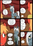 big_macintosh_(mlp) comic cutie_mark duo earth_pony equine feral friendship_is_magic hair horn horse mammal metal_(artist) my_little_pony pony unicorn