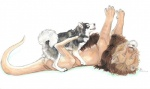 2008 anal anal_penetration backsack balls canine claws dog duo ebonytigress eyes_closed feral feral_on_feral hybrid inner_ear_fluff legs_up lionroo lying malamute male male/male mammal missionary_position on_back open_mouth pawpads penetration sex simple_background size_difference small_dom_big_sub smile toe_claws tongue tongue_out  Rating: Explicit Score: 15 User: ghjkty Date: January 14, 2016