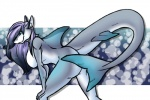 2015 4tailedfox anthro bent_over breasts butt cloudtrotter female fin fish grey_hair grey_skin hair kaveri long_hair marine nude shark solo tail_fin  Rating: Questionable Score: 12 User: h4x0r Date: July 04, 2015