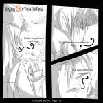 anime charizard clothing comic dialogue feral hi_res human lying male mammal man&creatures monochrome nintendo pokéball pokémon text video_games  Rating: Safe Score: 1 User: man&creatures Date: October 29, 2015