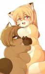 2013 blush breasts brown_eyes brown_fur brown_hair canine female fox fur hair kemono loli long_hair mammal open_mouth orange_fur orange_hair raccoon unknown_artist young   Rating: Questionable  Score: 6  User: KemonoLover96  Date: February 19, 2015
