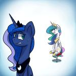 2015 animated anticularpony cartoon equine female feral friendship_is_magic horn mammal my_little_pony princess_celestia_(mlp) princess_luna_(mlp) winged_unicorn wings   Rating: Safe  Score: 14  User: Robinebra  Date: January 25, 2015