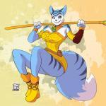 2015 anthro blue_fur clothing female fur krystal lionalliance nintendo smile solo star_fox teeth video_games  Rating: Questionable Score: 2 User: TheHunterOfKings Date: November 02, 2015