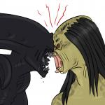 <3 alien alien_(franchise) ambiguous_gender animated black_body dreadlocks duo forced forced_oral humor oral predator_(franchise) sex source_request tan_body unknown_artist   Rating: Safe  Score: 3  User: Silkywere  Date: September 13, 2014