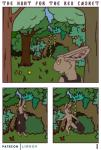 2019 absurd_res anthro clothed clothing comic digital_media_(artwork) english_text fur hare hi_res lagomorph leporid lirkov male mammal nude solo textRating: QuestionableScore: 4User: SophDate: May 19, 2019