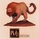 claws feral fur humanoid_face male mane manticore mythology nathanandersonart nude persian_mythology red_fur scorpion_tail snarling soloRating: SafeScore: 2User: SnowWolfDate: December 09, 2017