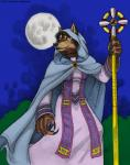 anthro canine cape claws clothed clothing dress female fur hair hood kyoht_luterman mammal melee_weapon moon night outside simple_background solo staff video_games warcraft weapon were werewolf wolf worgen world_of_warcraft  Rating: Safe Score: 3 User: random_person Date: October 17, 2015
