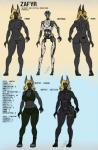 2018 abs android anthro barcode biceps black_fur blonde_hair blue_eyes bodysuit bone boots breasts butt canine clothing female footwear fur hair jackal machine mammal model_sheet muscular muscular_female navel nipples nude pants pussy robot robotic_reveal shirt skeleton skinsuit solo talynn tank_top tattoo tight_clothing zafyr_(talynn)Rating: ExplicitScore: 0User: magictacoDate: August 24, 2017