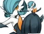 alternate_color ambiguous_gender frown gardevoir mega_gardevoir nintendo orange_eyes pokémon video_games   Rating: Safe  Score: 8  User: Juni221  Date: November 09, 2013