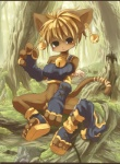 anthro bell bottomless cat clothed clothing covering covering_self danae ear_piercing feline female footwear forest half-dressed kishibe legend_of_mana mammal mana_(series) nature outside piercing sandals solo tree video_games wood  Rating: Safe Score: 4 User: Anomynous Date: July 05, 2009