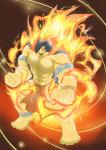 abs anthro biceps big_muscles clothed clothing fire firepaw front fur half-dressed kokuhane loincloth male muscles nintendo pecs pokémon red_eyes standing toned topless tribal typhlosion video_games   Rating: Questionable  Score: 8  User: rix_traier  Date: March 15, 2014