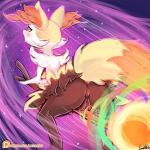 braixen broom canine female fox lumineko mammal masturbation nintendo pokken_tournament pokémon riding solo video_games  Rating: Explicit Score: 31 User: lumineko Date: March 31, 2016
