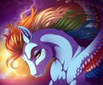 2014 equine female feral friendship_is_magic kittehkatbar looking_at_viewer mammal my_little_pony pegasus rainbow_dash_(mlp) smile solo wings   Rating: Safe  Score: 26  User: Robinebra  Date: August 22, 2014