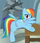 2016 anatomically_correct animal_genitalia animal_pussy anus blue_feathers blue_fur blush butt cutie_mark equine equine_pussy feathered_wings feathers female feral friendship_is_magic fur hair hi_res inside looking_at_viewer looking_back mammal multicolored_hair my_little_pony pegasus presenting purple_eyes pussy rainbow_dash_(mlp) sculpture shutterflyeqd solo spread_wings statue table window wingsRating: ExplicitScore: 16User: Cat-in-FlightDate: July 11, 2018
