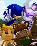 anthro blaze_the_cat blush canine feline female fox group hedgehog knockabiller male mammal marine_the_raccoon miles_prower one_eye_closed raccoon smile sonic_(series) sonic_the_hedgehog wink   Rating: Safe  Score: 12  User: slyroon  Date: February 12, 2014