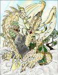 2000 anthro biceps claws clothing dragon eastern_dragon forked_tongue green_eyes horn japanese_clothing kimono lunarwolf male muscular oriental penis scales scalie solo tongue tree undressing wings yellow_scales  Rating: Explicit Score: 0 User: syrmat Date: October 30, 2015