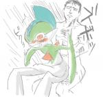 anal anal_penetration blush butt duo gallade human humor interspecies japanese_text male male/male mammal nintendo nude penetration pokémon poképhilia red_eyes sex surprise surprise_sex tears text video_games what yaranaika   Rating: Explicit  Score: 2  User: QueerChrysalis  Date: February 05, 2015