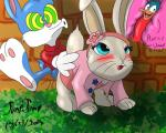 (artist) all_fours avian bird buster buster_bunny cub doggystyle duck from_behind internal jumpjump lagomorph lily lily_bobtail mammal peter_rabbit plucky_duck rabbit sex tiny_toon_adventures tiny_toons_adventures warner_brothers young   Rating: Explicit  Score: 1  User: JUMPJUMP  Date: March 29, 2015