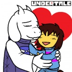 <3 age_difference ambiguous_gender anthro caprine child cub duo eyes_closed female goat horn hug larger_female logo mammal open_mouth protagonist_(undertale) quetzadrake size_difference smile toriel undertale young  Rating: Safe Score: 7 User: Vaporeon Date: August 17, 2013