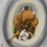 2009 anthro blood buried canine eyes_closed feces female fox kinne lucky mammal multiple_tails post_vore scat solo toilet urine vore   Rating: Explicit  Score: -11  User: Kinne  Date: August 09, 2014
