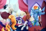 2015 blue_eyes blue_fur clothing curtains cutie_mark door equine eyes_closed female feral flying friendship_is_magic fur group hair hat horn inside mammal mannequin multicolored_hair my_little_pony open_mouth pegasus purple_hair rainbow_dash_(mlp) rainbow_hair rarity_(mlp) sassy_saddles_(mlp) scootiebloom two_tone_hair unicorn white_fur window wings  Rating: Safe Score: 13 User: ConsciousDonkey Date: January 26, 2016