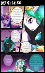 ambiguous_gender changeling comic dialogue english_text equine female feral friendship_is_magic horn mammal my_little_pony princess_celestia_(mlp) queen_chrysalis_(mlp) text twilight_sparkle_(mlp) vavacung winged_unicorn wings  Rating: Safe Score: 6 User: Robinebra Date: June 16, 2015""