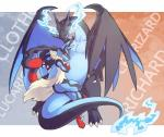 alasurth ambiguous_gender blue_fur canine crossed_arms crossed_legs dragon duo english_text fire fur looking_at_viewer lucario mammal mega_charizard mega_charizard_x mega_evolution mega_lucario nintendo on_top pokémon red_eyes scalie sitting smile super_smash_bros text video_games  Rating: Safe Score: 17 User: DeltaFlame Date: February 18, 2015