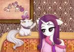 2014 anthro anthrofied bow cat clothing colar cutie_mark duo equine feline female feral friendship_is_magic hair half-closed_eyes horn inside long_hair mammal mesperal my_little_pony opalescence_(mlp) purple_hair rarity_(mlp) sweetie_belle_(mlp) unicorn whiskers   Rating: Safe  Score: 1  User: lemongrab  Date: April 25, 2015