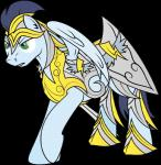 alpha_channel armor blue_fur blue_hair cutie_mark equine friendship_is_magic fur hair hooves knight male mammal my_little_pony pegasus plain_background rusilis soarin_(mlp) solo transparent_background wings wonderbolts_(mlp)   Rating: Safe  Score: 3  User: Rusilis  Date: April 06, 2014