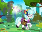 alternate_hairstyle bag book city clothing coco_pommel_(mlp) cute earth_pony equine eyewear female flower friendship_is_magic glasses headphones horse ipod listening mammal manehattan music musical_note my_little_pony one_eye_closed park pixelkitties plant pony raised_hoof saddle_bag schoolgirl sculpture smile solo statue sun tree  Rating: Safe Score: 12 User: MyNameIsMarty Date: October 05, 2015