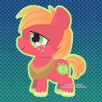 big_macintosh_(mlp) cute cutie_mark earth_pony equine freckles friendship_is_magic green_eyes happy horse low_res male mammal miss-glitter_(artist) my_little_pony pony smile solo  Rating: Safe Score: 3 User: SwiperTheFox Date: October 20, 2015