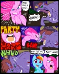2012 angry blue_eyes blue_fur building comic dialog english_text equine female feral friendship_is_magic fur green_eyes group hair headbut horse metal_(artist) monster multi-colored_hair my_little_pony outside pegasus pink_fur pink_hair pinkamena_(mlp) pinkie_pie_(mlp) pony purple_eyes rainbow_dash_(mlp) rainbow_hair text wings   Rating: Safe  Score: 5  User: lemongrab  Date: June 28, 2013