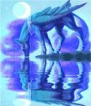 2015 animated begasuslu blue_feathers blue_fur blue_hair drinking equine eyes_closed feathered_wings feathers female feral friendship_is_magic fur hair horn jewelry low_res mammal moon my_little_pony necklace night princess_luna_(mlp) reflection sky solo star tongue tongue_out water winged_unicorn wings  Rating: Safe Score: 12 User: ConsciousDonkey Date: March 12, 2016