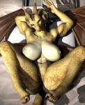 3d_(artwork) anthro big_breasts big_butt breasts butt cgi claws clitoris digital_media_(artwork) distaute dragon female horn membranous_wings nipples pussy reptile scalie solo spread_legs spreading vic34677 wings  Rating: Explicit Score: 31 User: slyroon Date: November 12, 2015