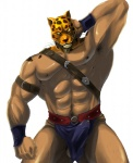 abs animal_head anime armor armpit_hair armpits baldric balls belt biceps big_muscles black_eyes black_hair body_hair brown_fur brown_nose brown_skin bulge clothed clothing cum cum_in_pants dripping erection feline fur guin guin_saga hair half-dressed hand_on_head happy_trail human hybrid leaking leopard loincloth looking_at_viewer male mammal manly mask muscles navel nipples orange_fur pecs penis pointy_ears pose precum pubes raised_arm shadow shiny short_hair simple_background solo squint standing strap tekken toned topless underwear unknown_artist wet wet_spot whiskers white_background wristband yellow_eyes yellow_fur  Rating: Explicit Score: 14 User: WiiFitTrainer Date: April 26, 2013