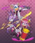 amy_rose bat blaze_the_cat cat feline female group hedgehog mammal rouge_the_bat sonic_(series) syaming-li  Rating: Safe Score: 5 User: Rad_Dudesman Date: June 26, 2015""