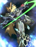 armor canine foreshortening glowing hologram male muscles pecs power_armor red_eyes sci-fi solo weapon   Rating: Safe  Score: 5  User: Torgaddon  Date: January 22, 2013